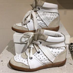 Isabel Marant Betty Sneaker Wedge